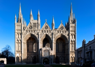 Peterborough Cathedral - photo by Andy Marshall