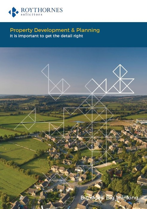 Development and Planning legal brochure